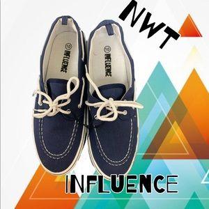 💕2for25 💕 slip on boat shoes men's size 10